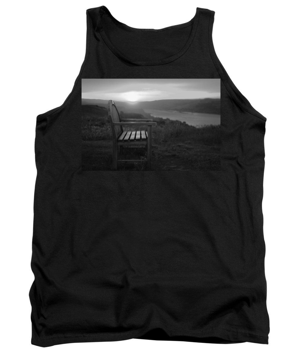 Columbia Gorge Tank Top featuring the photograph Lonely In The Waiting  by Jeff Swan
