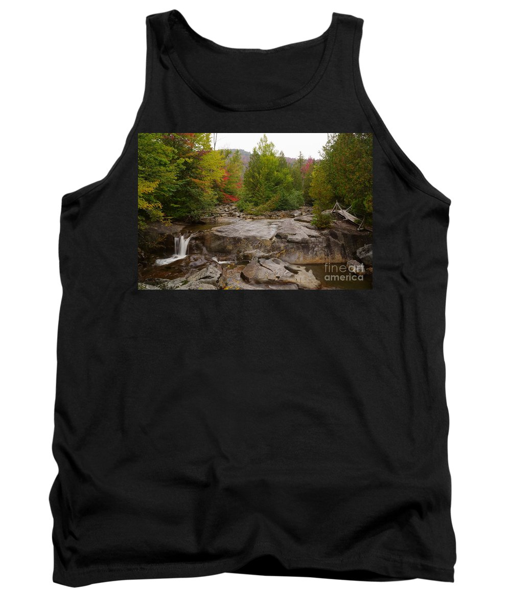 Waterfalls Tank Top featuring the photograph Lost Falls by Jeffery L Bowers