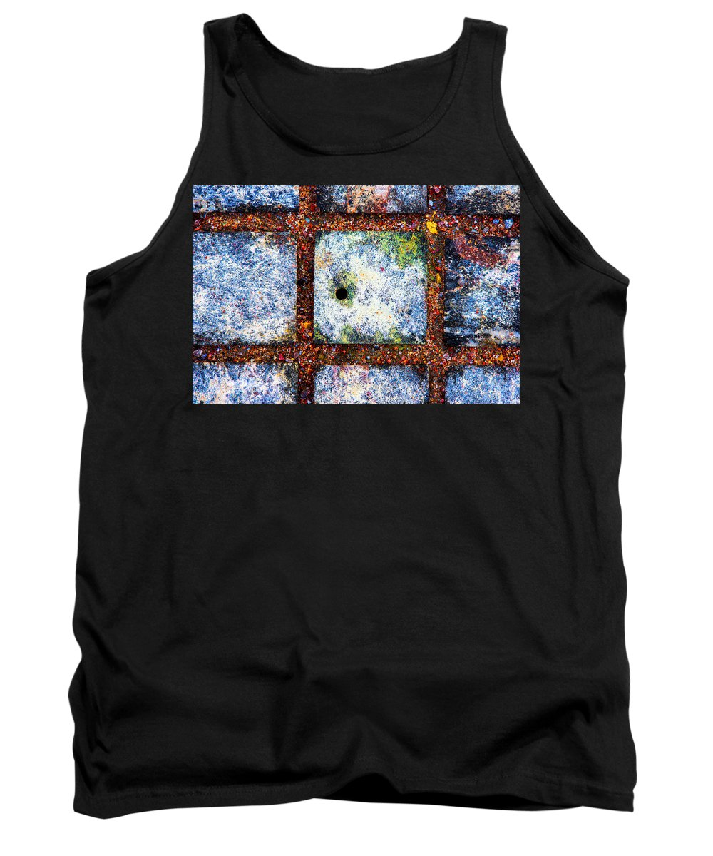 Abstract Tank Top featuring the photograph Lot Number 7 Of The Universe by Alexander Senin