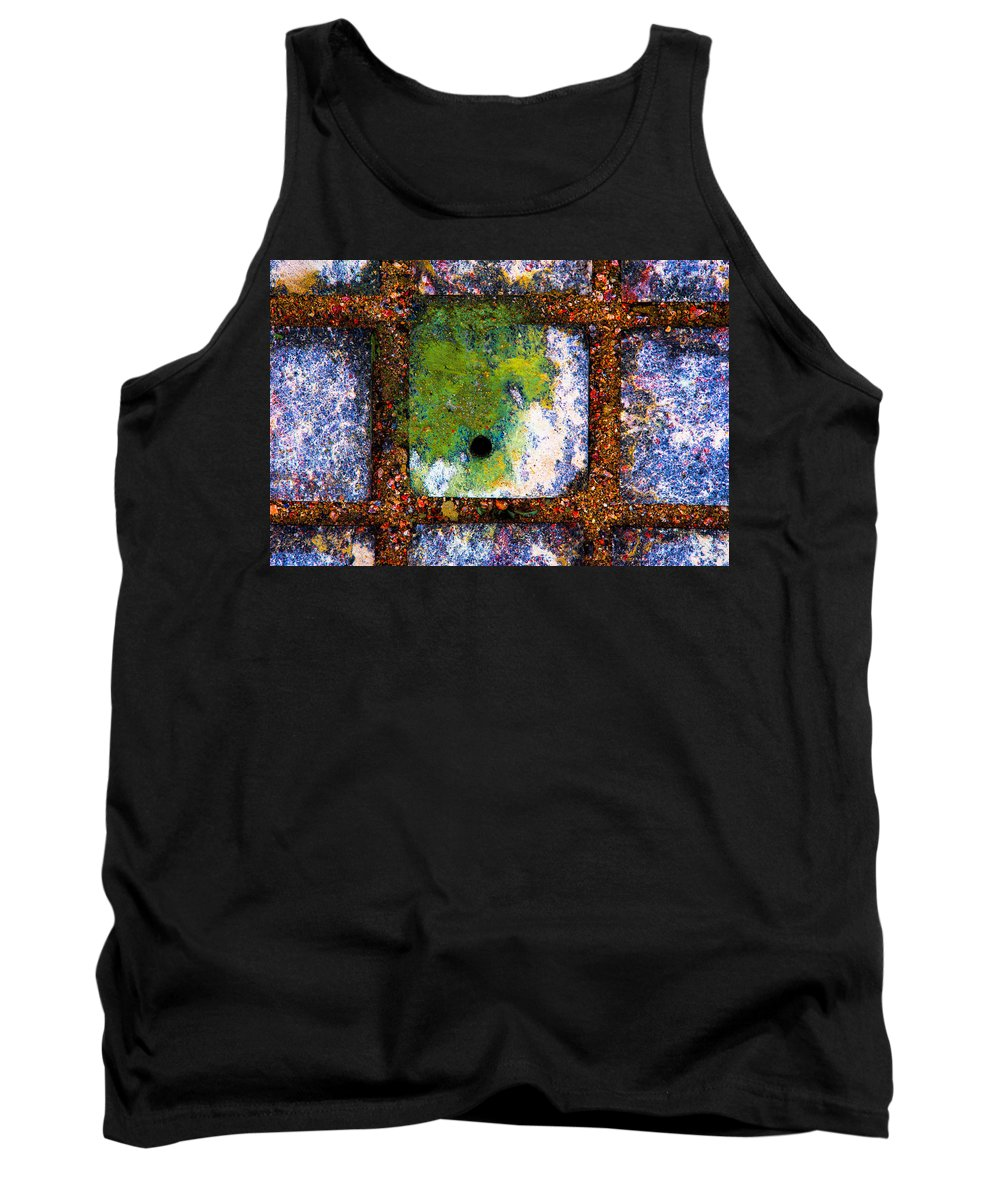 Abstract Tank Top featuring the photograph Lot Number 8 Of The Universe by Alexander Senin