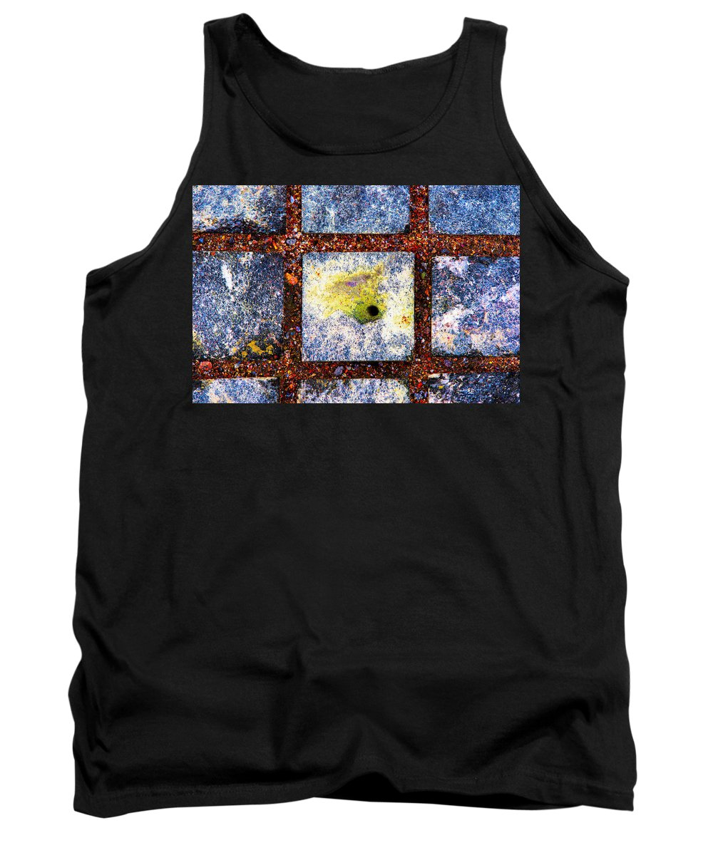 Abstract Tank Top featuring the photograph Lot Number 9 Of The Universe by Alexander Senin
