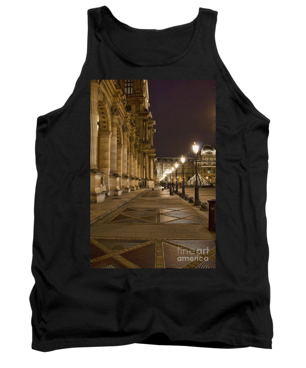 Europe Tank Top featuring the photograph Louvre Courtyard by Crystal Nederman