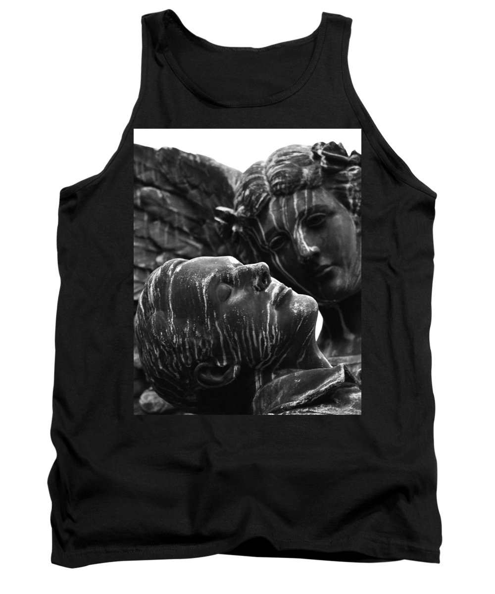 Street Photography Tank Top featuring the photograph Love Me While I Sleep by The Artist Project