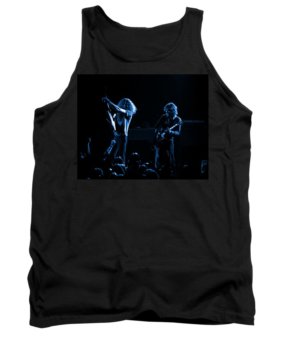 Lynyrd Skynyrd Tank Top featuring the photograph Ls Spo #18 In Blue by Ben Upham