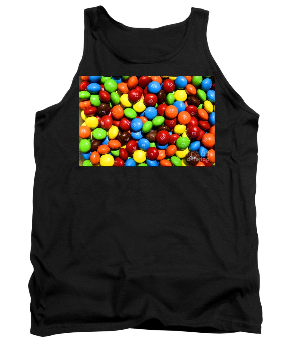 M & M Tank Top featuring the photograph M - M - M - M - M by Paul W Faust - Impressions of Light