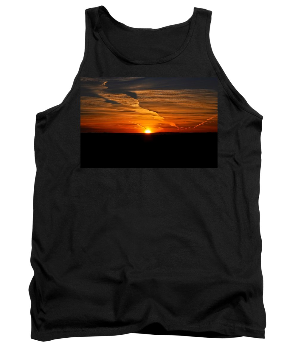 Oregon Tank Top featuring the photograph Magical Sunrise by Image Takers Photography LLC