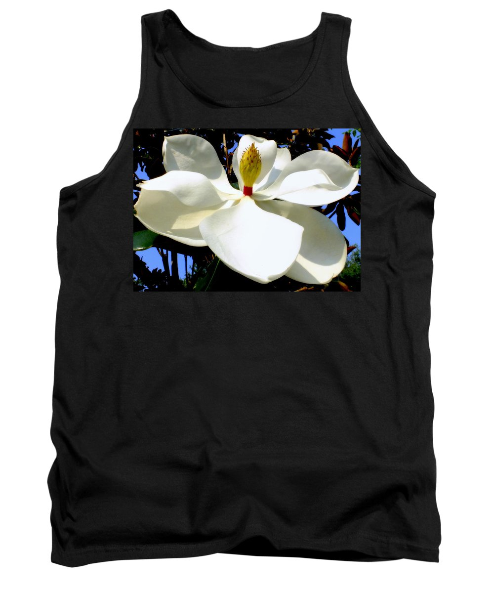 Magnolias Tank Top featuring the photograph Magnolia Carousel by Karen Wiles
