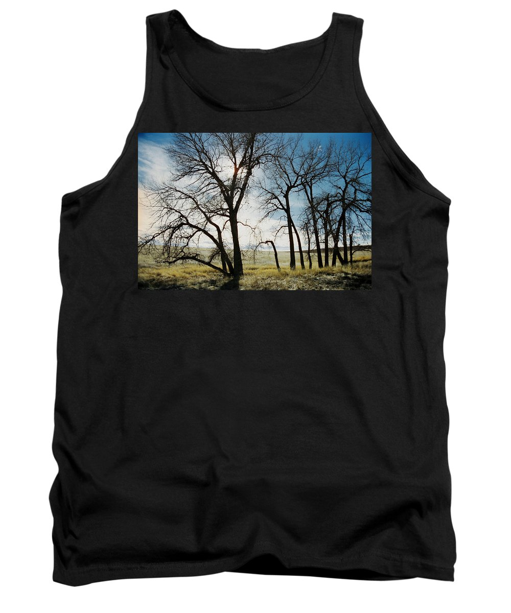Trees Tank Top featuring the photograph Make A Stand by Ric Bascobert