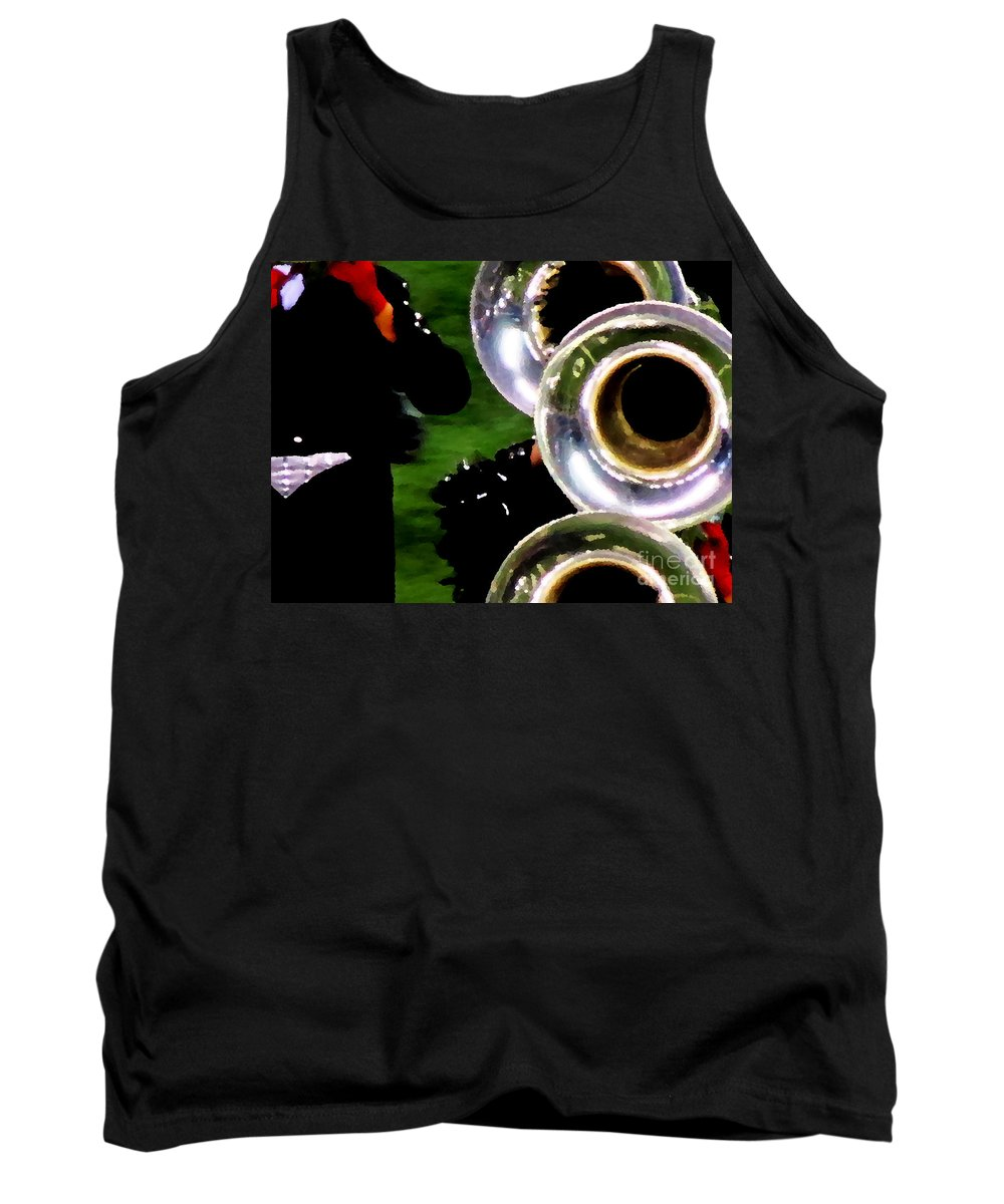 Ron Tackett Tank Top featuring the photograph March Or Die by Ron Tackett