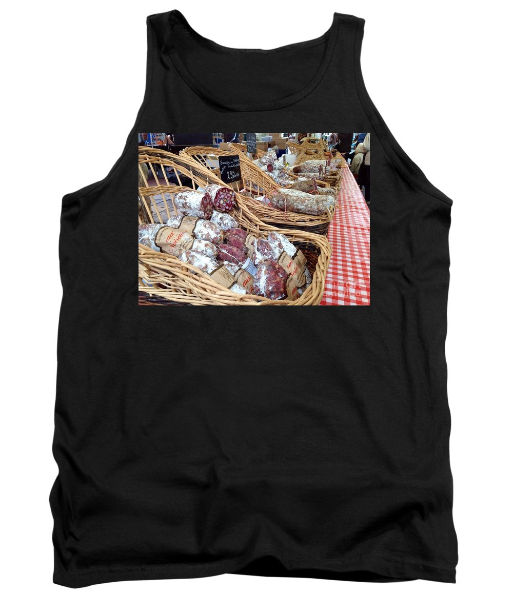 French Tank Top featuring the photograph Market Day by France Art