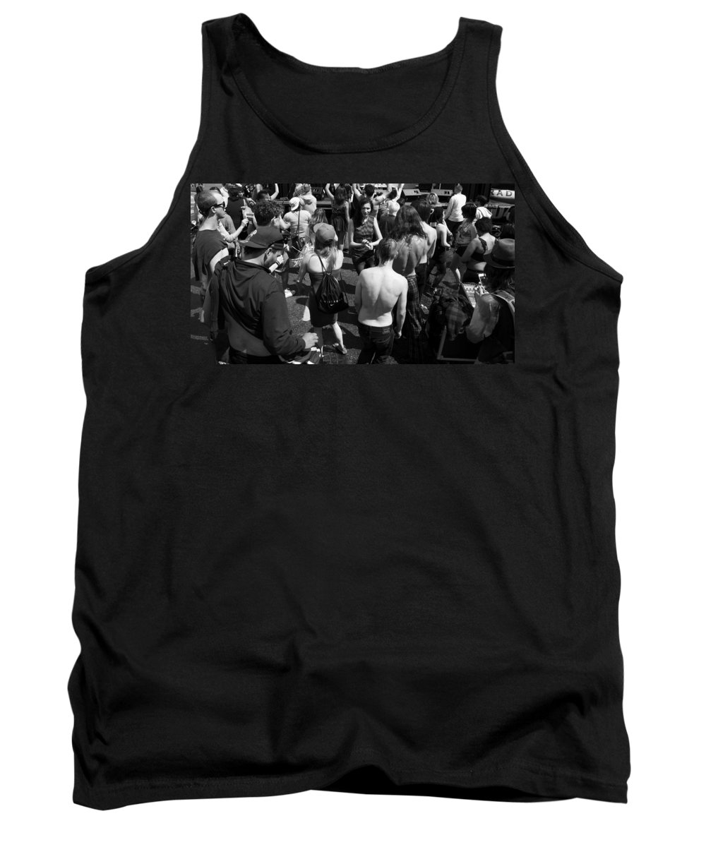 Street Photography Tank Top featuring the photograph Maybe Answers by The Artist Project
