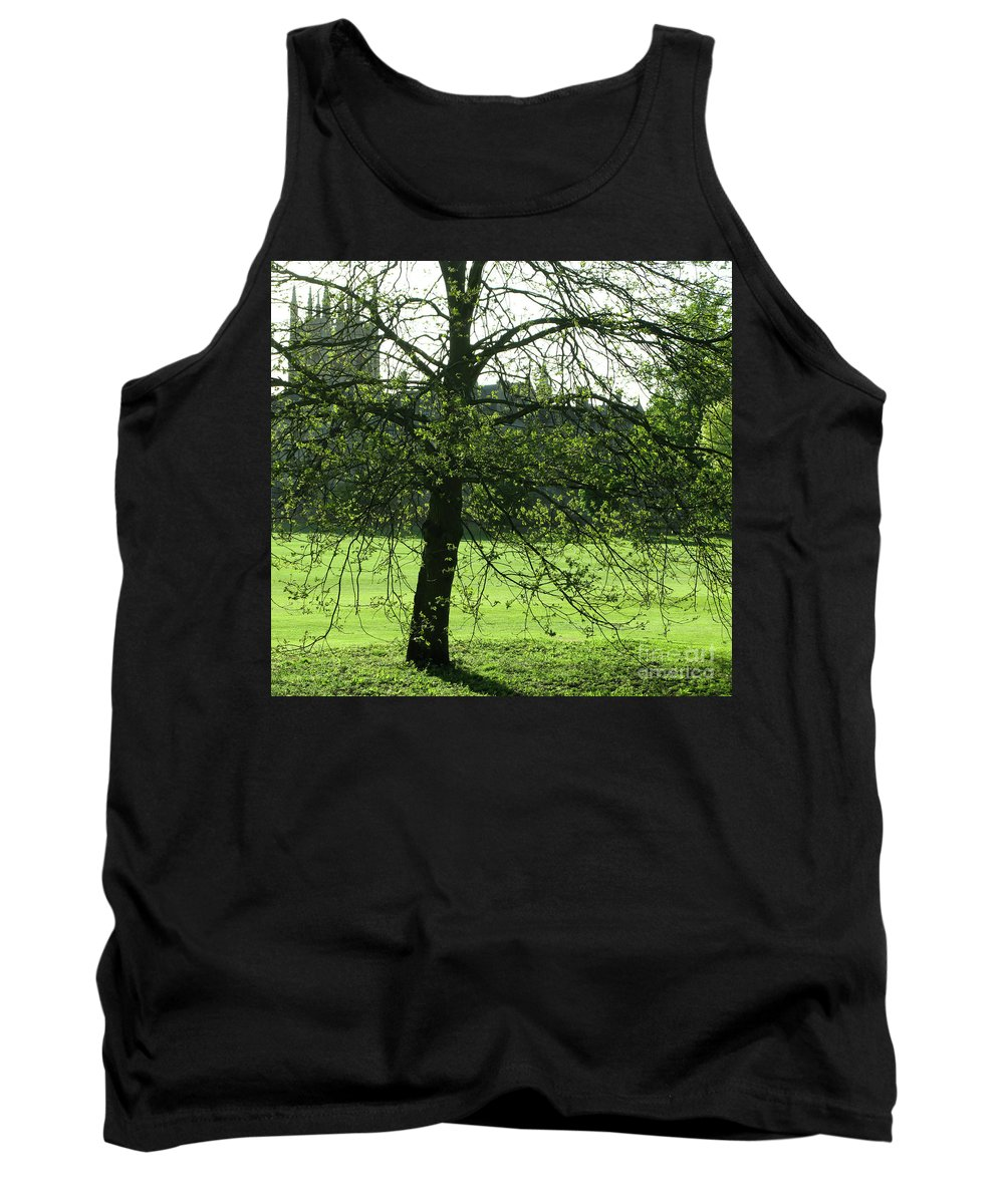 Oxford University Tank Top featuring the photograph Meadow View by Ann Horn