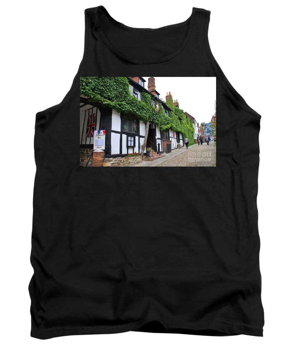 Day Tank Top featuring the photograph Mermaid Inn Rye by David Fowler