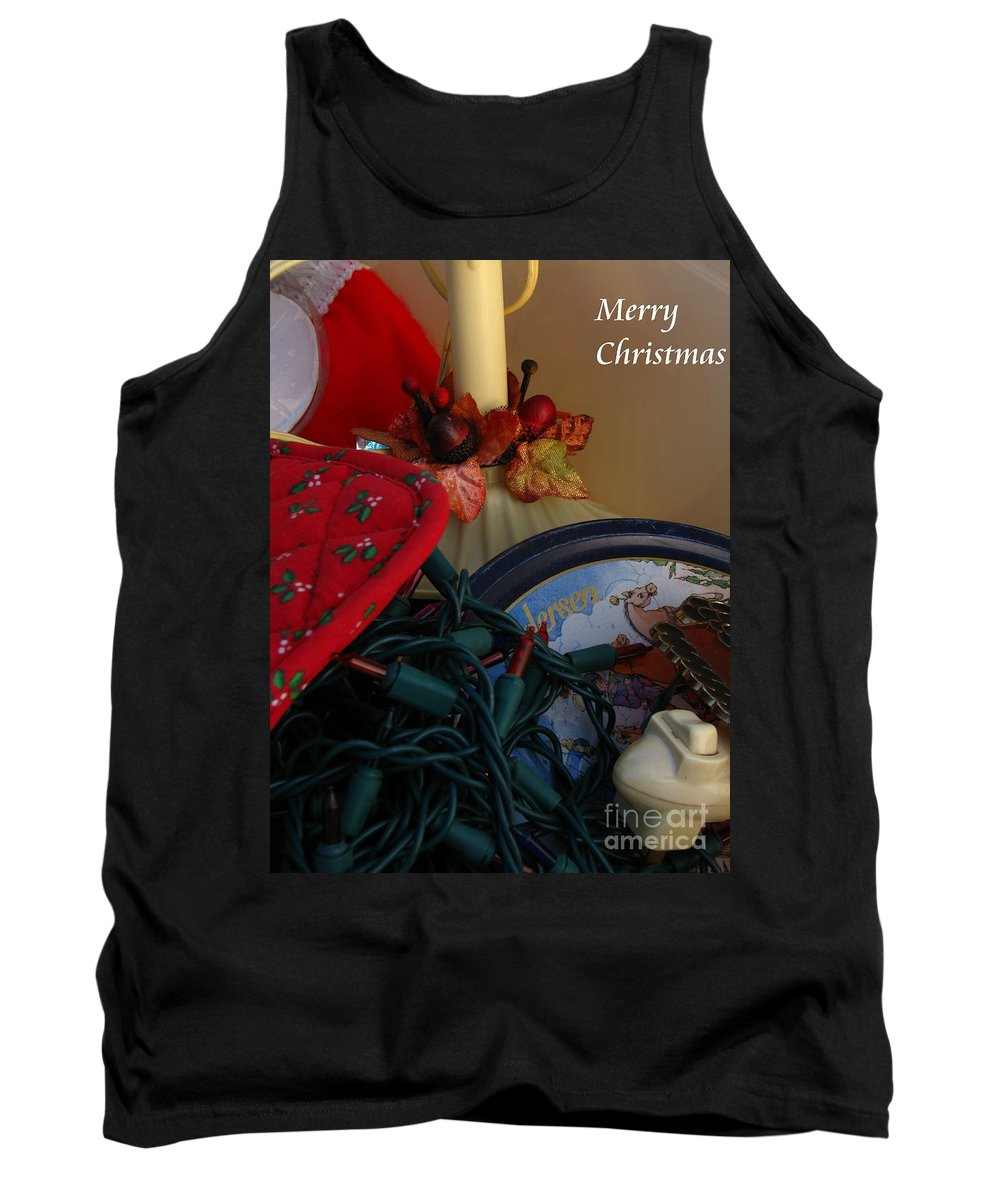 Patzer Tank Top featuring the photograph Merry Christmas by Greg Patzer