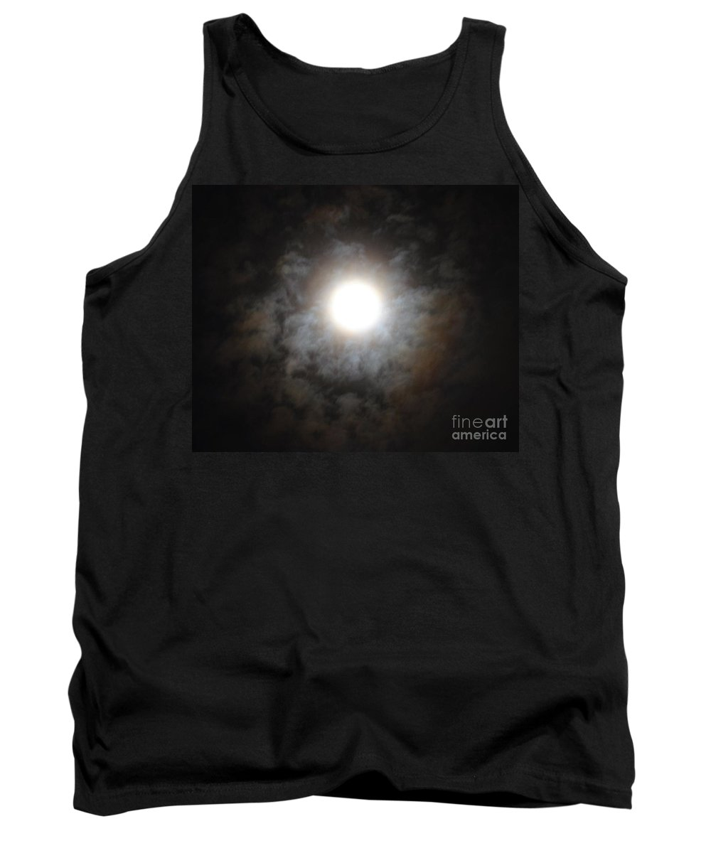 Mesmerizing Moonlight Tank Top featuring the photograph Mesmerizing Moonlight by Maria Urso
