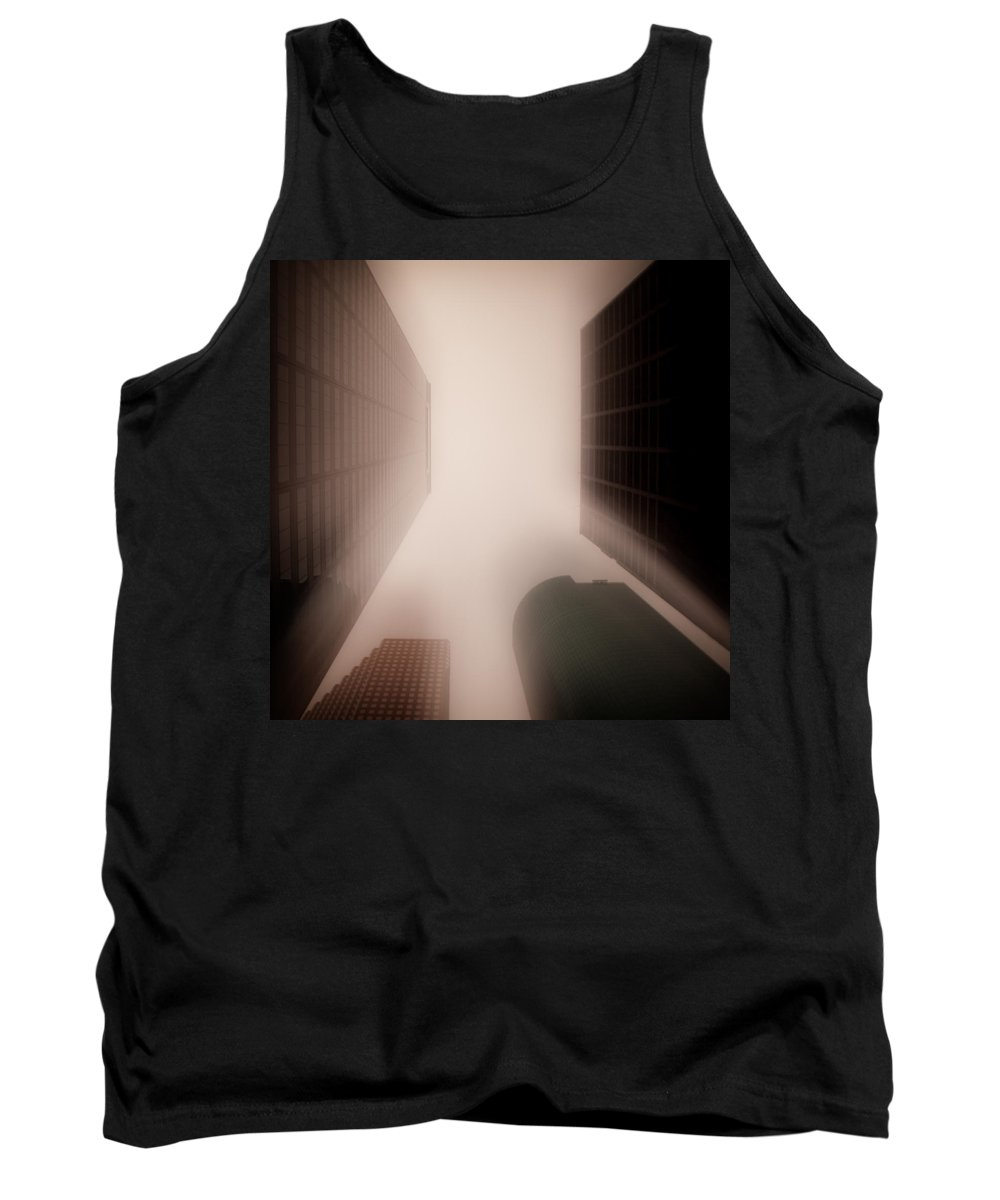 Houston Tank Top featuring the photograph Metropolis by Dave Bowman