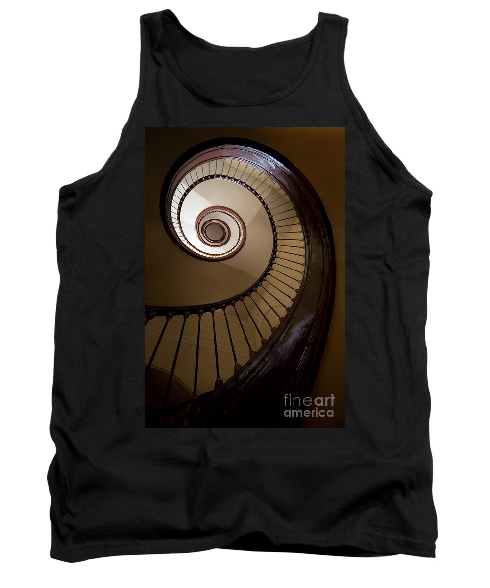 Staircase Tank Top featuring the photograph Milk And Chocolate Staircase by Jaroslaw Blaminsky