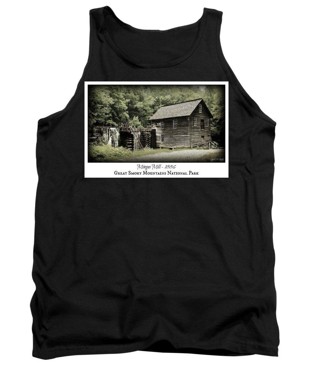 Mingus Mill Tank Top featuring the photograph Mingus Mill - Color Poster by Stephen Stookey