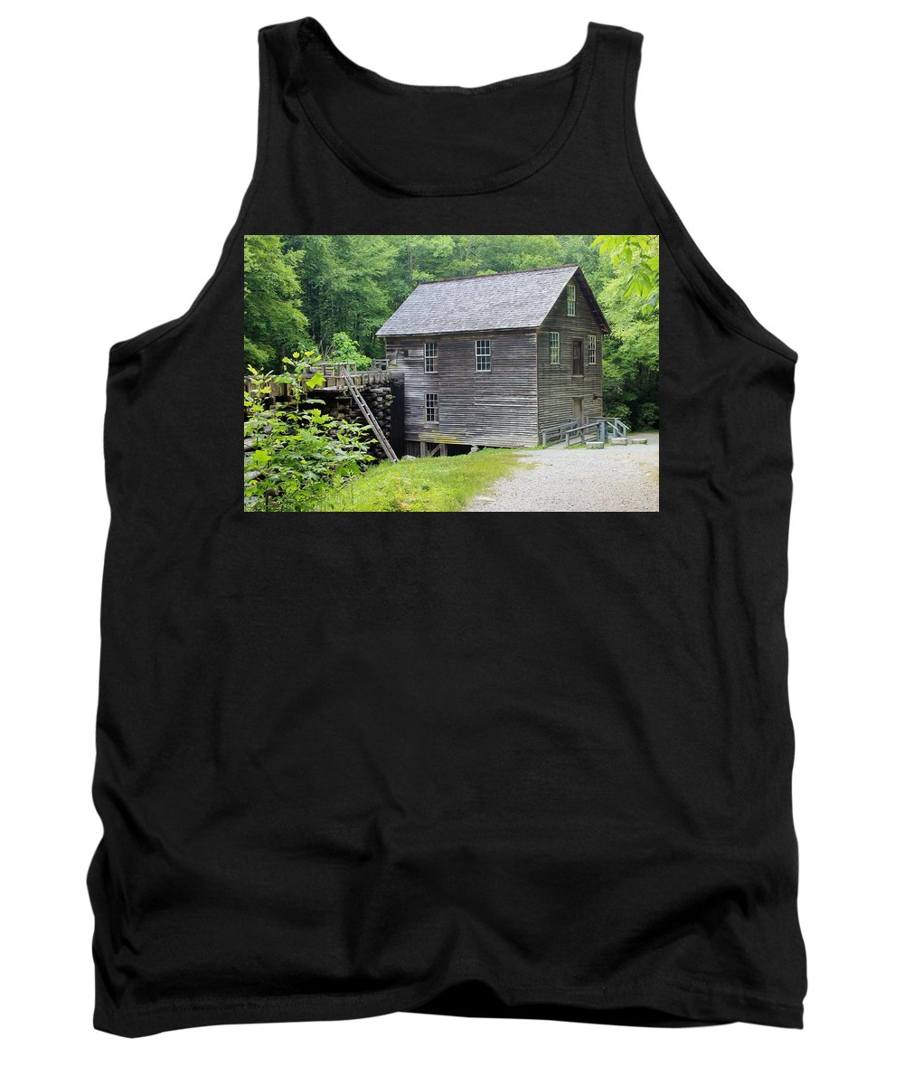 Mingus Mill Tank Top featuring the photograph Mingus Mill In Tennessee by Mary Koval