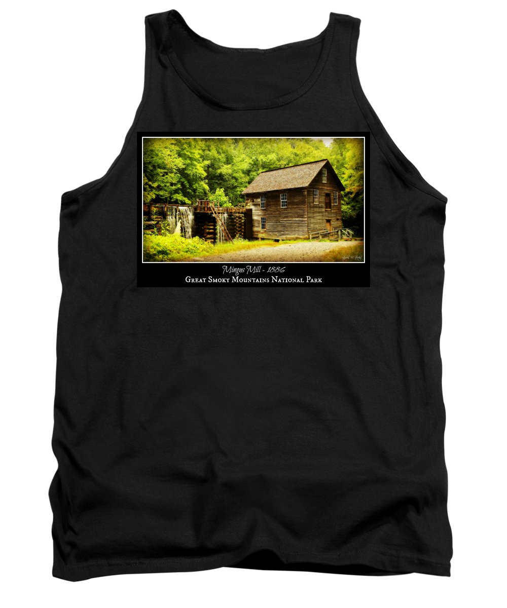 Mingus Mill Tank Top featuring the photograph Mingus Mill -- Poster by Stephen Stookey