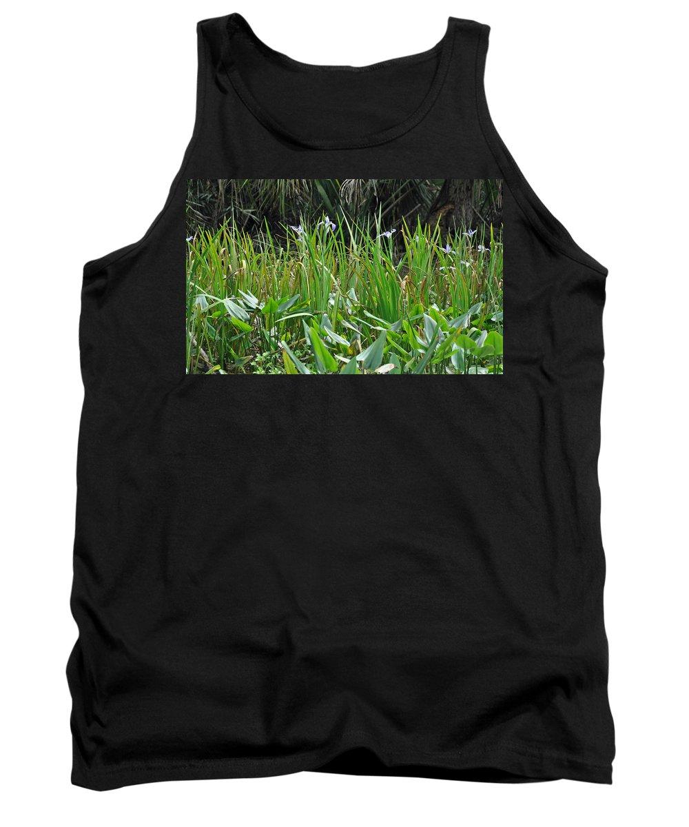 Landscape Tank Top featuring the photograph Miniature Lilies by Deborah Good