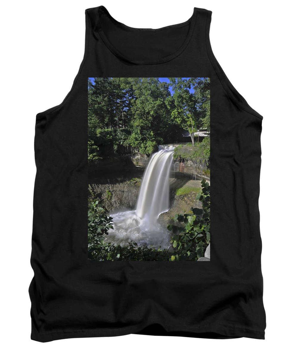 Falls Tank Top featuring the photograph Minnehaha Falls by David Berg