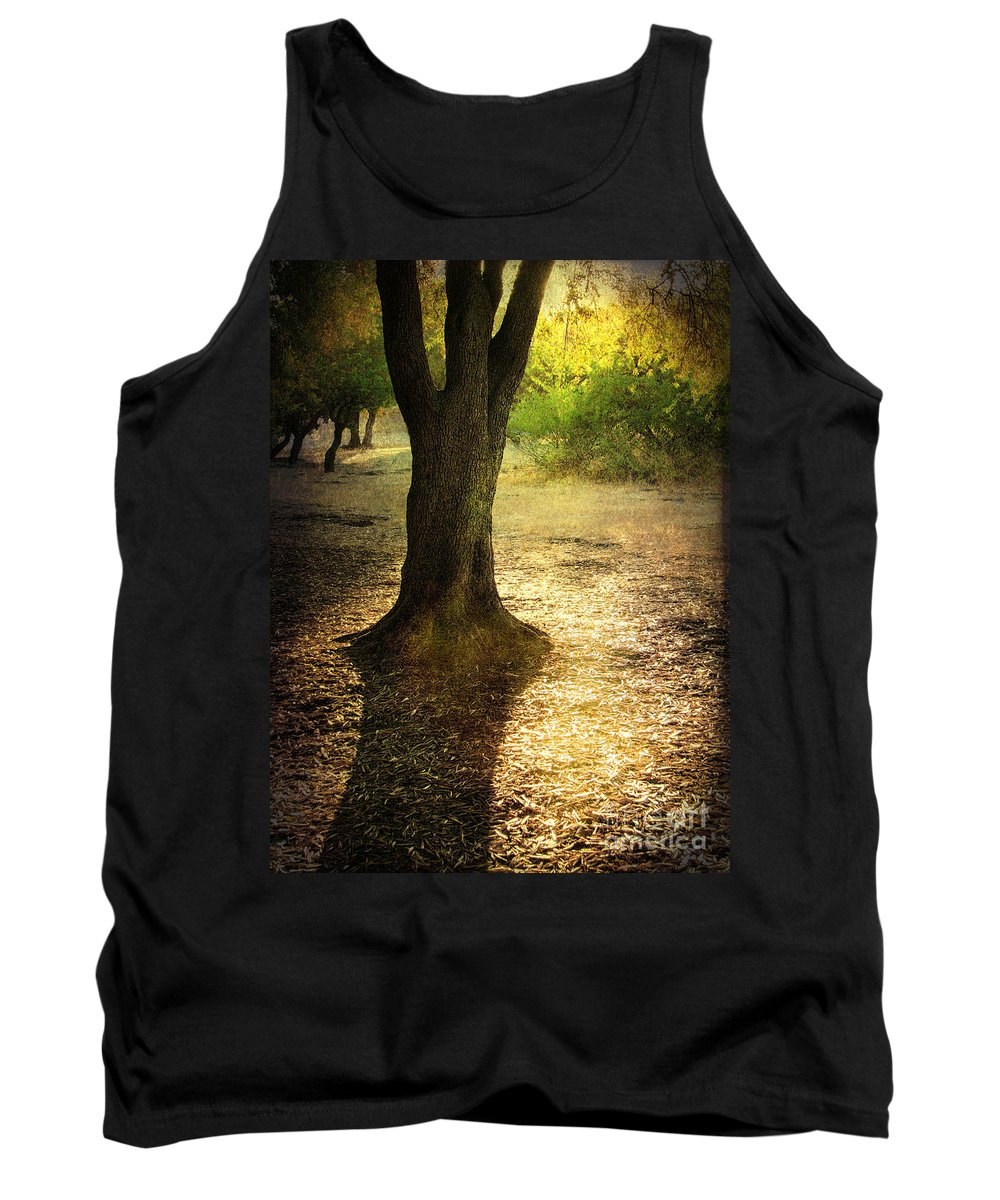 Landscape Tank Top featuring the photograph Missing You by Ellen Cotton