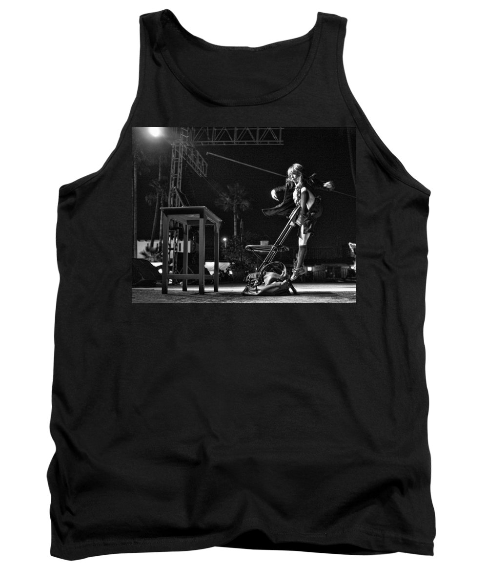 Festiarte Tank Top featuring the photograph Modern Dance by Hugh Smith