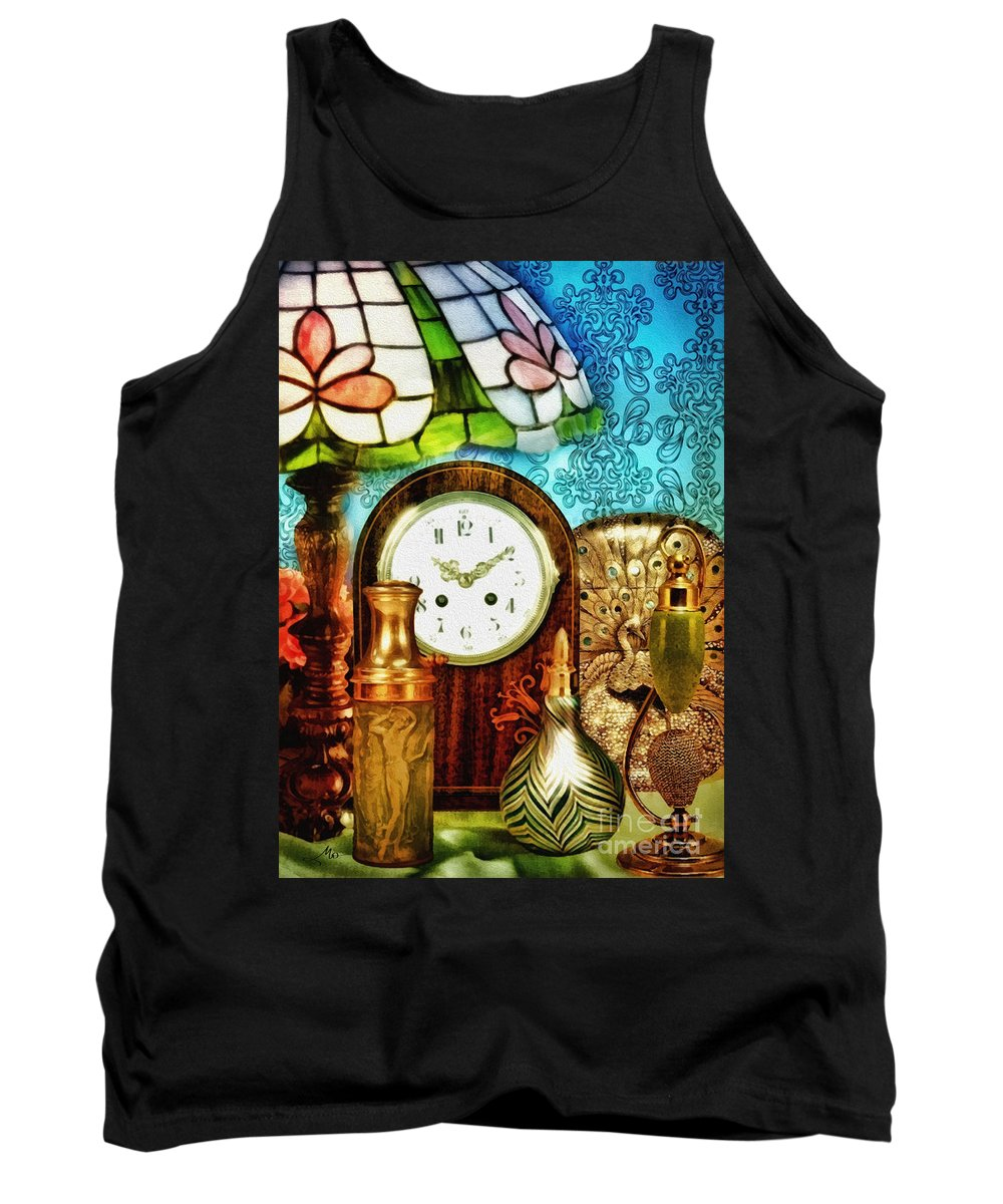 Moment In Time Tank Top featuring the photograph Moment In Time by Mo T