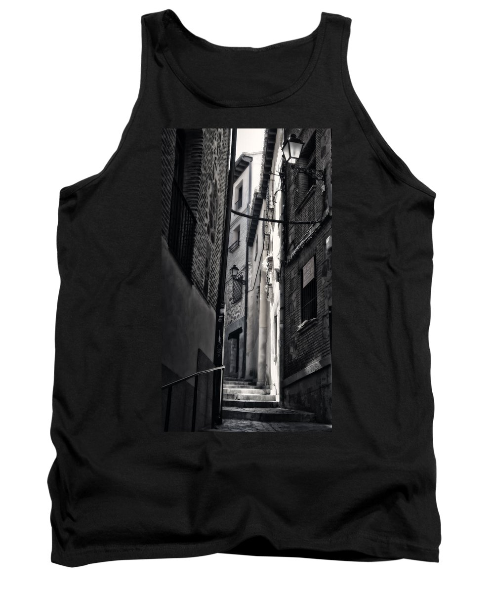 Alley Tank Top featuring the photograph Monday Monday by Joan Carroll