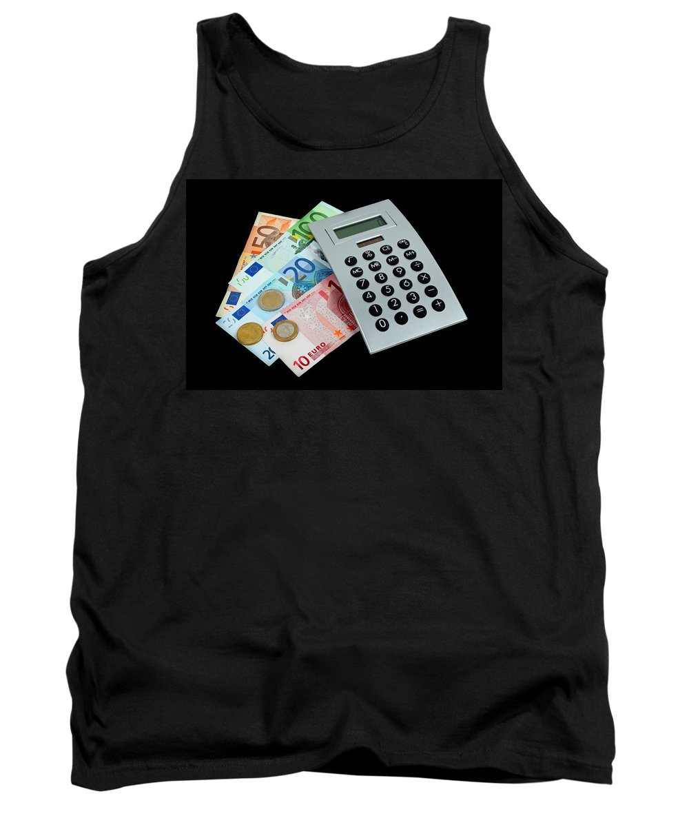 Money Tank Top featuring the photograph Money by Manfred Lutzius