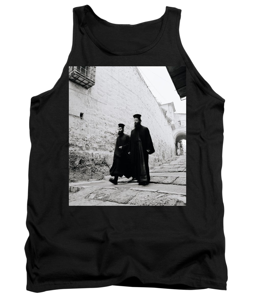 Jerusalem Tank Top featuring the photograph Ancient Beliefs by Shaun Higson