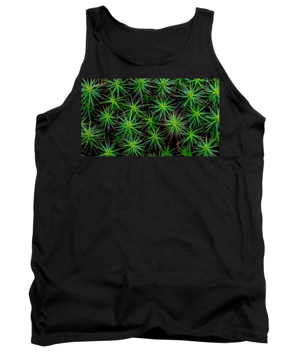 Moss Tank Top featuring the photograph Moss by David Downs