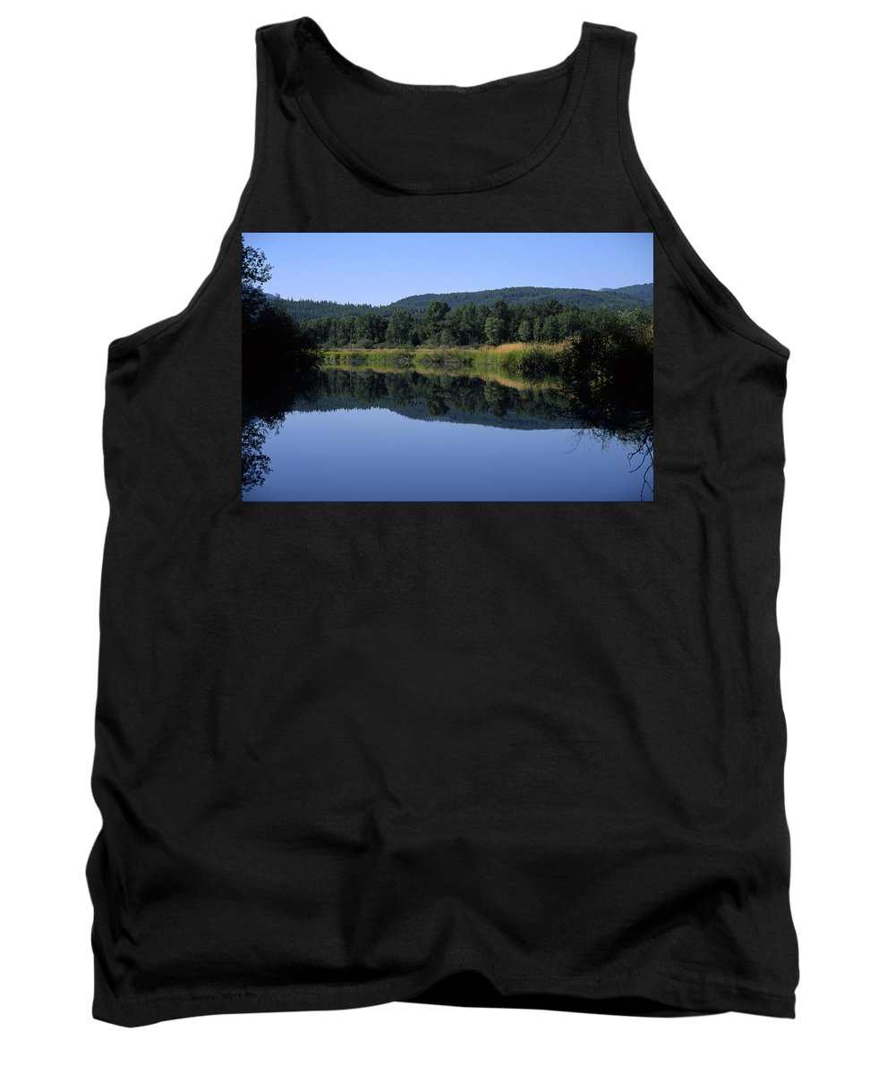 Americas Tank Top featuring the photograph Moyie Lake by Roderick Bley