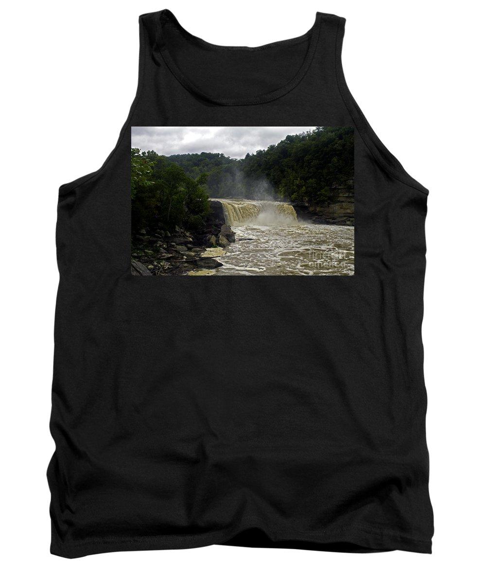 Landscape Tank Top featuring the photograph Muddy Water by Ken Frischkorn