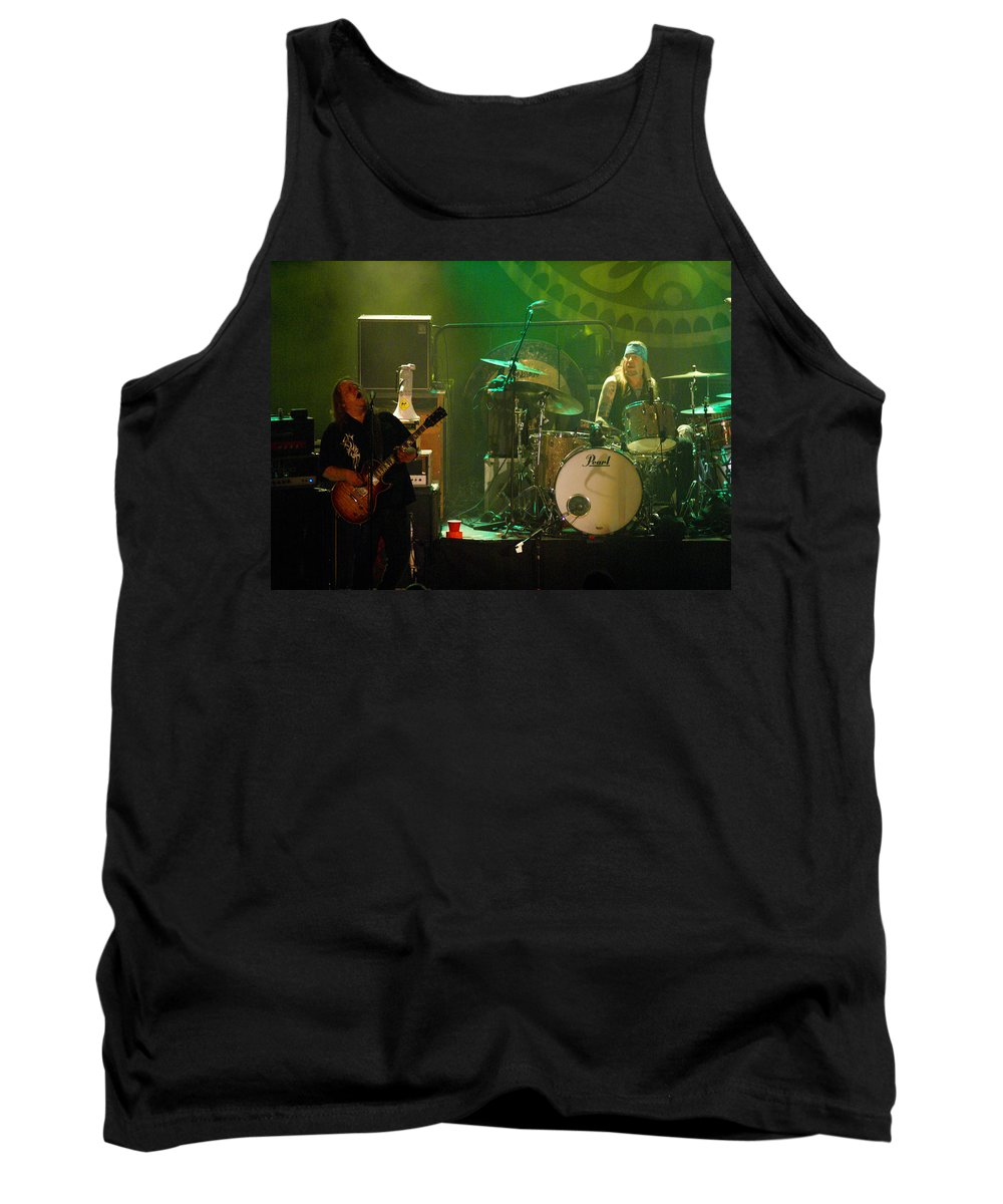 Gov't Mule Tank Top featuring the photograph Mule #11 by Ben Upham