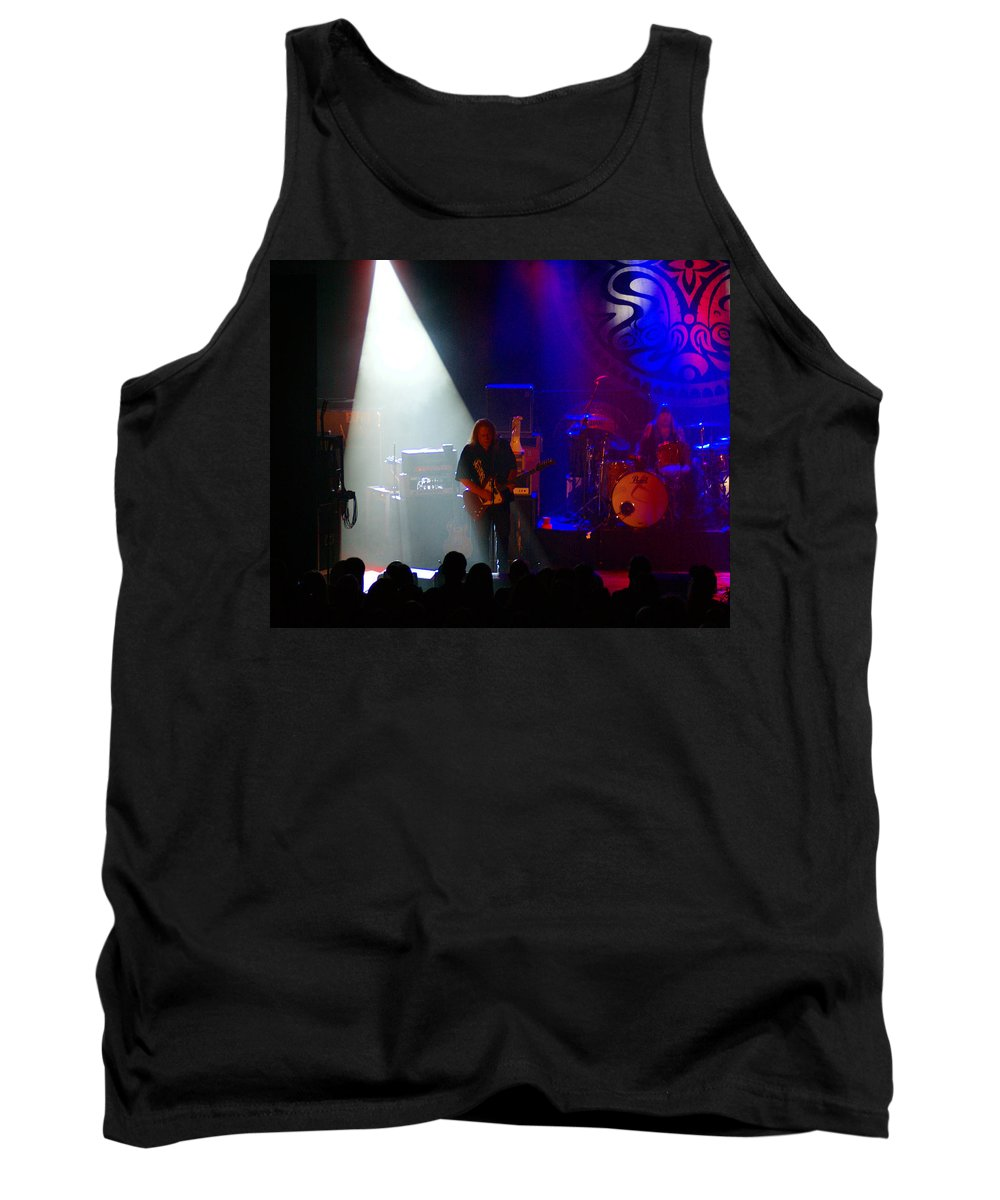 Gov't Mule Tank Top featuring the photograph Mule #4 by Ben Upham