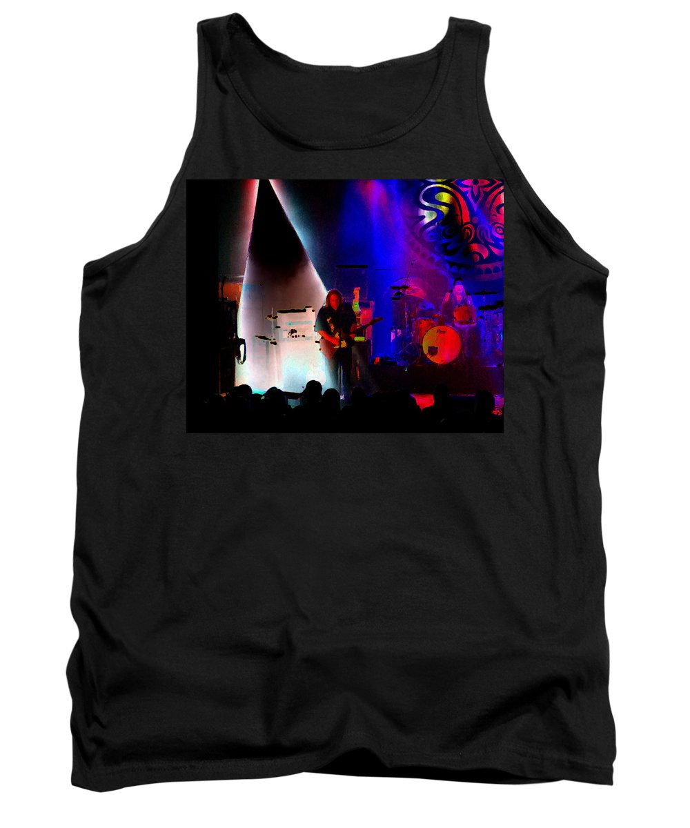 Gov't Mule Tank Top featuring the photograph Mule #4 Enhanced Image 2 by Ben Upham