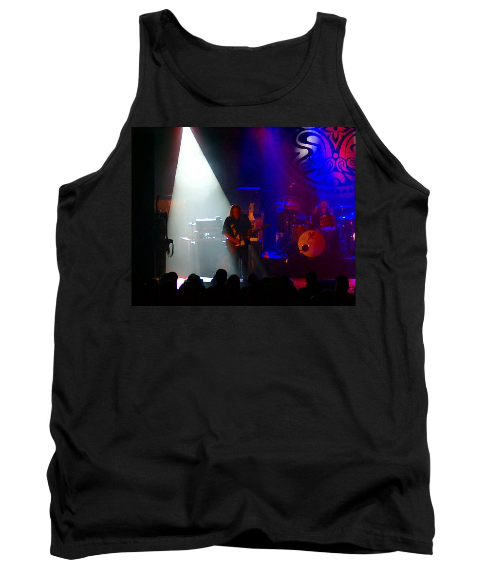 Gov't Mule Tank Top featuring the photograph Mule #4 Enhanced Image by Ben Upham