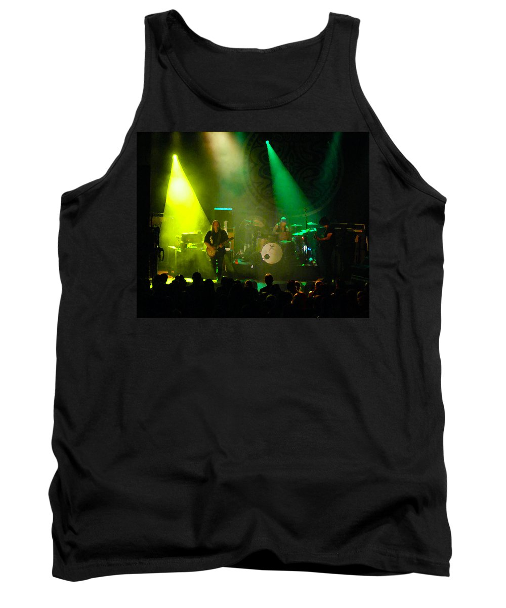 Gov't Mule Tank Top featuring the photograph Mule #7 Enhanced Image by Ben Upham