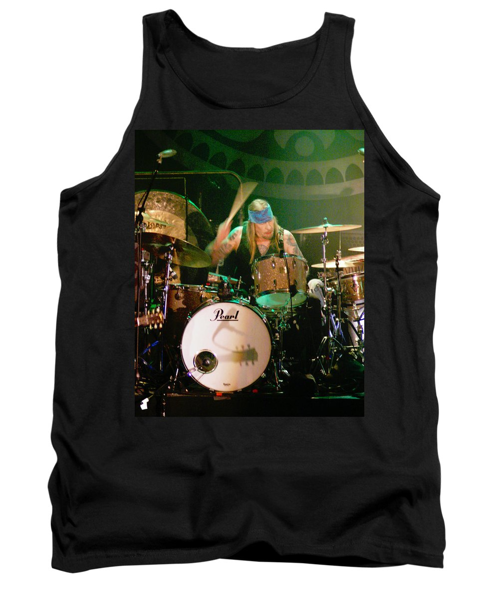 Gov't Mule Tank Top featuring the photograph Mule #9 by Ben Upham