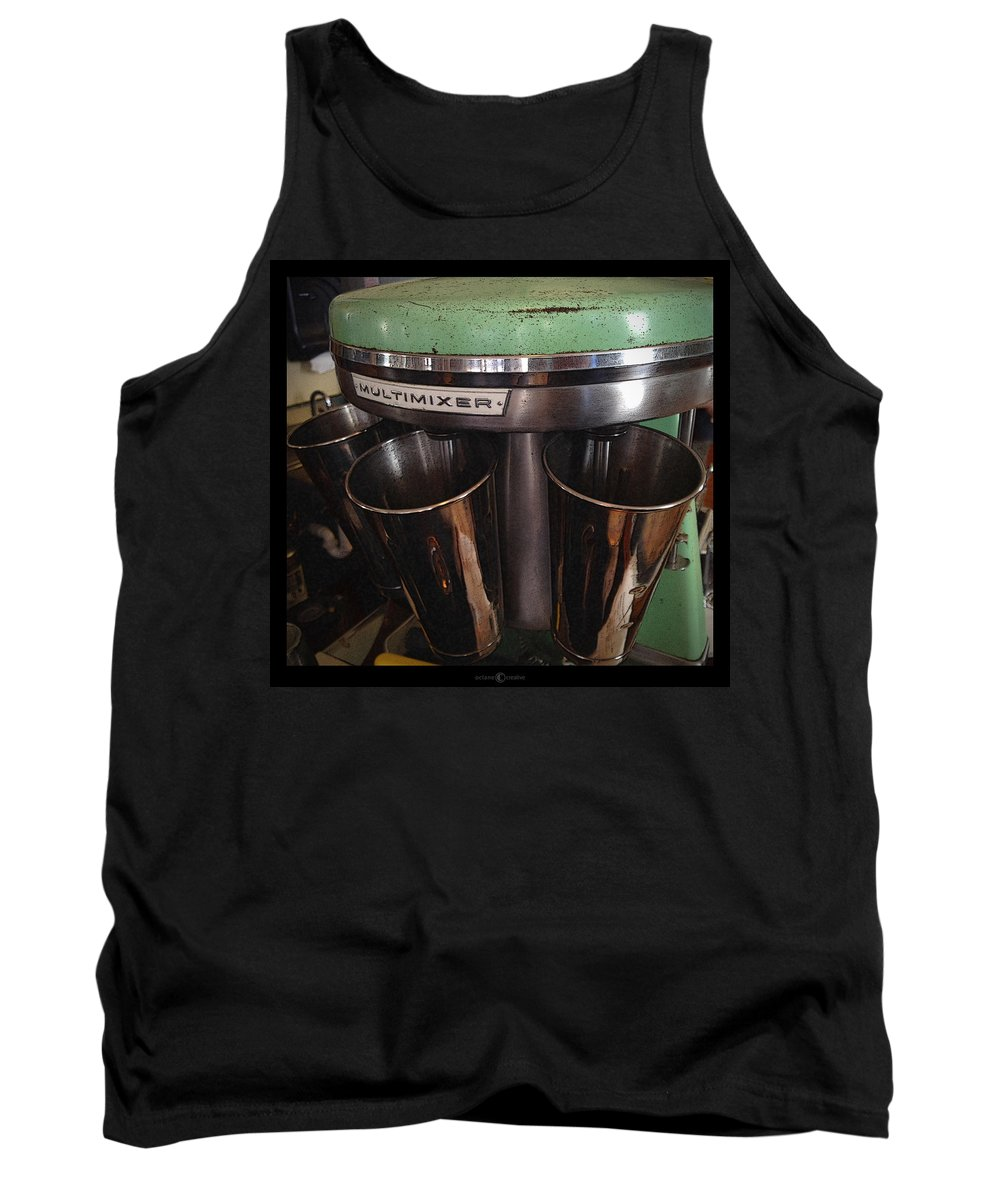 Multimixer Tank Top featuring the photograph Multimixer by Tim Nyberg
