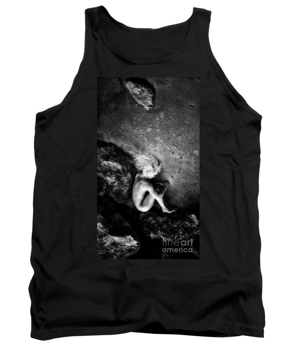 Adult Tank Top featuring the photograph My Earth Birth by Stelios Kleanthous