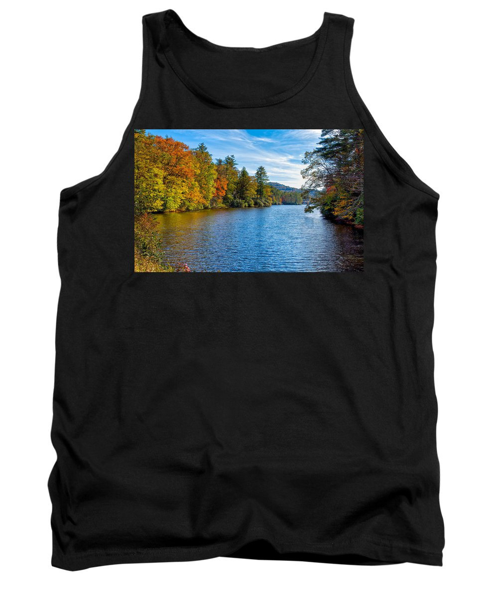 Landscape Tank Top featuring the photograph Myriad Colors Of Nature by John M Bailey