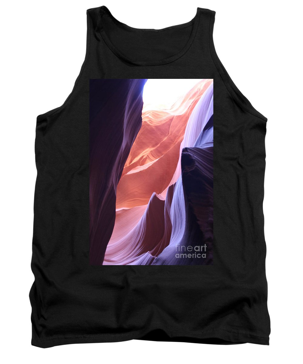 Canyon Tank Top featuring the photograph Narrow Canyon Xvi - Antelope Canyon by Christiane Schulze Art And Photography