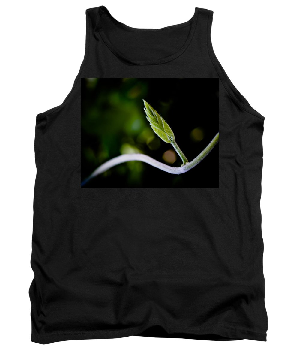 Flower Tank Top featuring the photograph New Life by Bob Orsillo