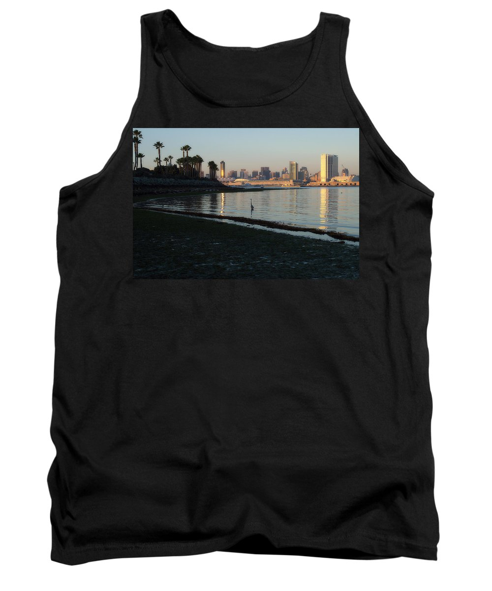 New Moon Tank Top featuring the photograph New Moon- Low Tide by See My Photos