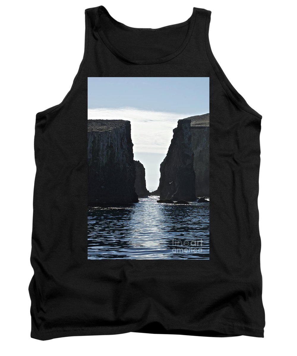 Channel Islands Tank Top featuring the photograph New Photographic Art Print For Sale Californian Channel Islands And Pacific Ocean by Toula Mavridou-Messer