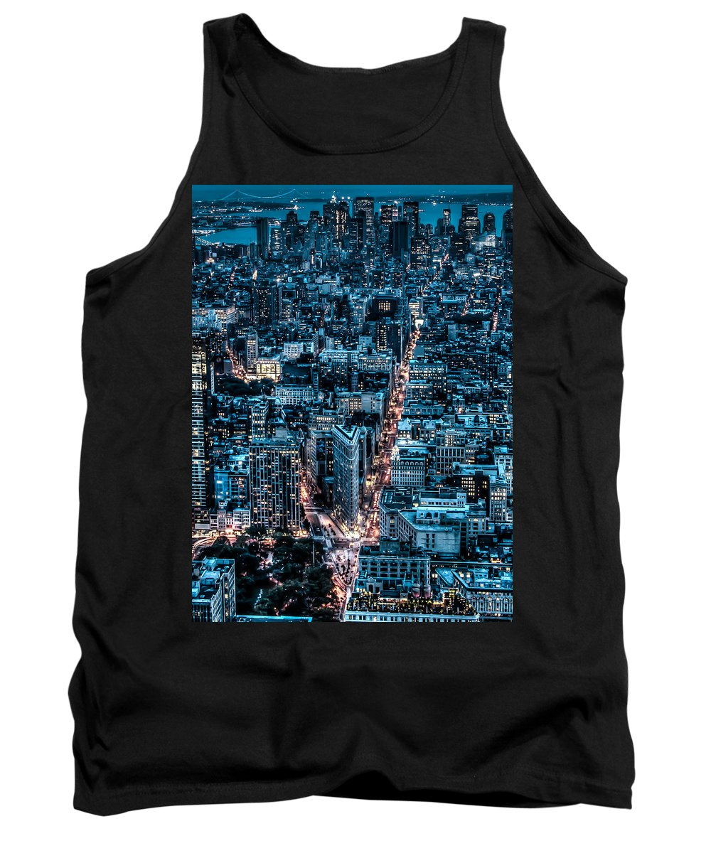 City Tank Top featuring the photograph New York City Triptych Part 2 by Alex Hiemstra