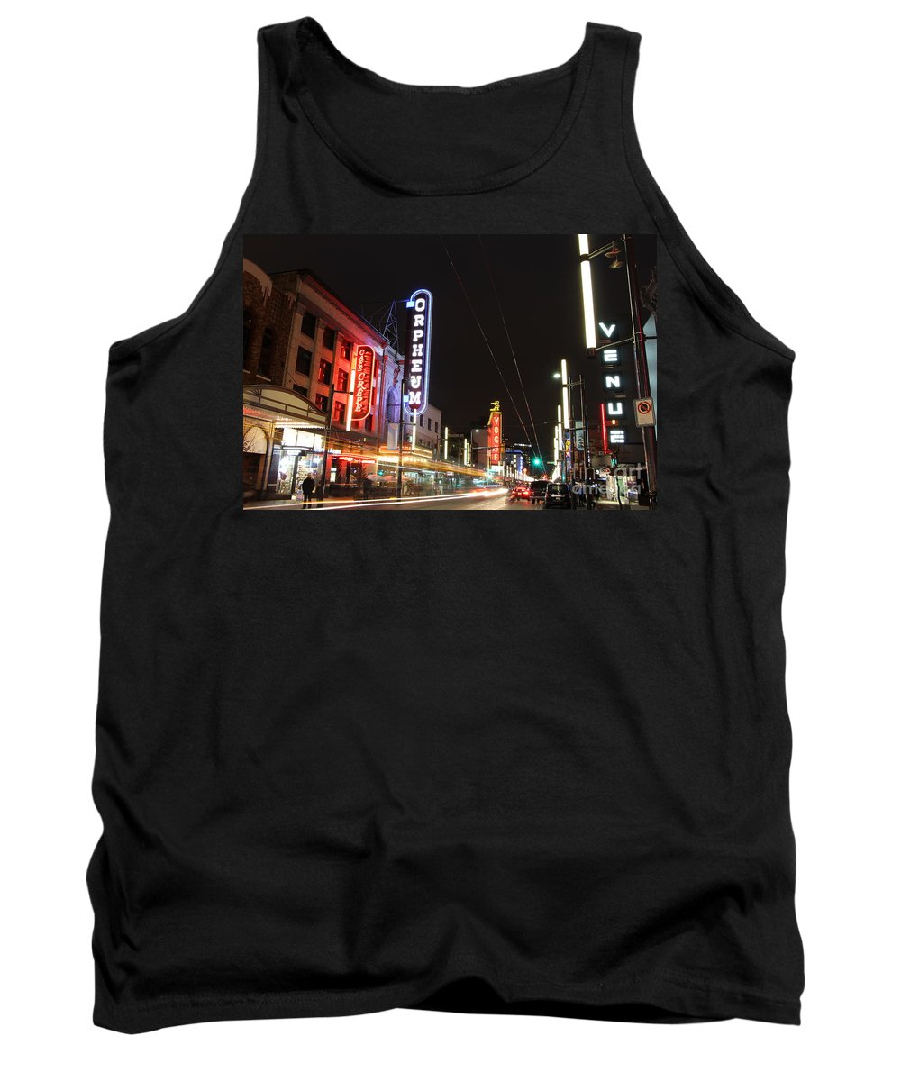 Night Tank Top featuring the photograph Night Vibes by Brigitte Mueller